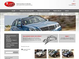 AJM CAR S.A website