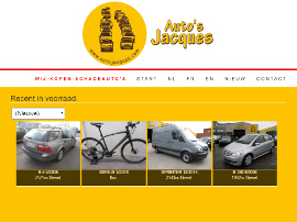 AUTO'S JACQUES website
