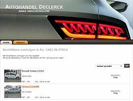 www.declerckautohandel.be