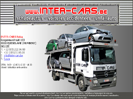 INTER-CARS BVBA website