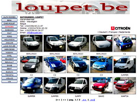 AUTOHANDEL LOUPET website