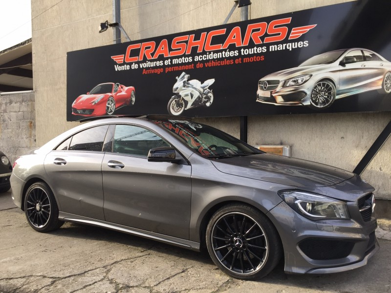 mercedes benz cla 220 pack amg 12 2013 53 000 km airco www autos motos net en. Black Bedroom Furniture Sets. Home Design Ideas